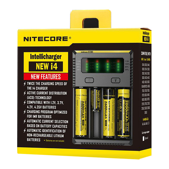 Nitecore Intellicharger i4 NEW